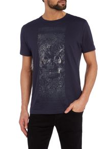 Diesel T-joe regular fit skull print t shirt