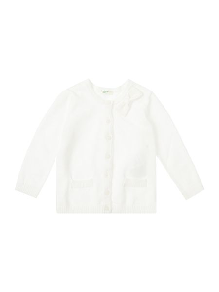 Benetton Girls Cardigan with bow