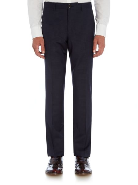 PS By Paul Smith Tonal Check Suit Trousers