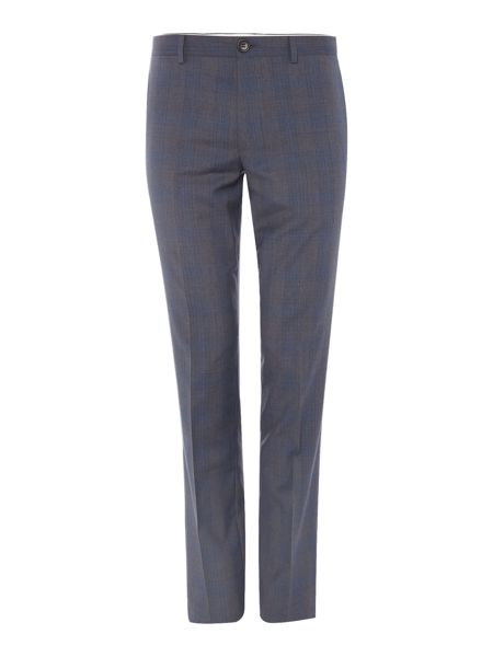 PS By Paul Smith Grey Check Suit Trousers