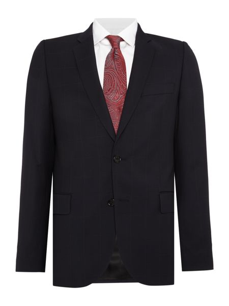 PS By Paul Smith Large Check Suit Jacket