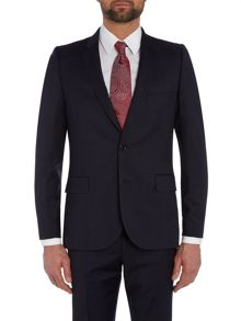 Large Check Suit Jacket