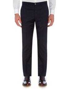 Large Check Suit Trousers