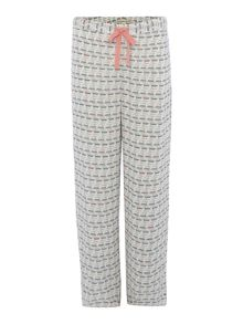 Dickins & Jones Teacup aop woven trouser