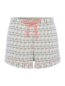 Dickins & Jones TEACUP AOP WOVEN SHORTS