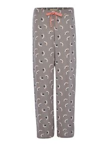 POLLY PELICAN AOP TURN UP TROUSER
