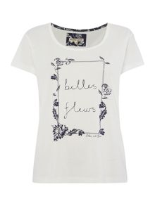 Dickins & Jones Belles fleurs placement tee