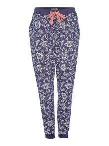 Dickins & Jones Belles fleurs cuffed trousers
