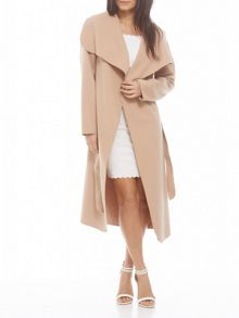 AX Paris Waterfall Belted Coat