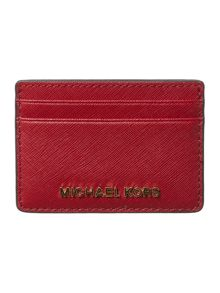 Jet set red cardholder