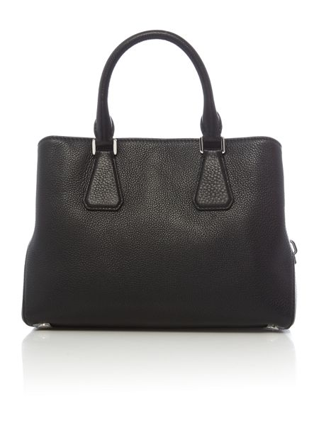 Michael Kors Camille black medium satchel bag