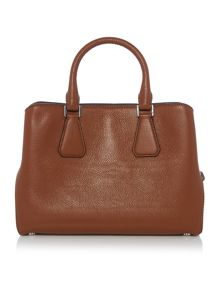 Michael Kors Camille tan medium satchel bag