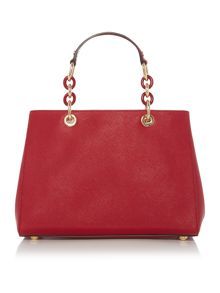 Cynthia red tote bag