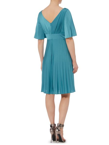 Biba Pleated luxe occasion dress