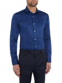 Rosest Slim Fit Plain Poplin Shirt