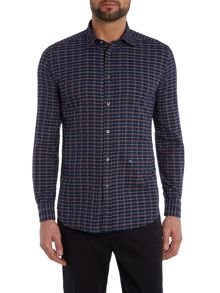 Diesel S-VOIL Regular fit subtle check shirt