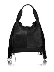 Label Lab Albany tassle hobo bag