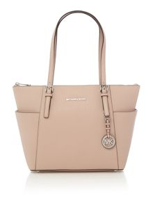 Michael Kors Jet set item pink small tote bag