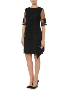 Linea Danette tapework dress