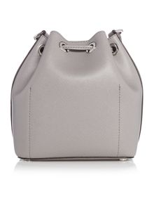 Greenwich grey bucket bag