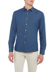 PS By Paul Smith Long Sleeved Denim Shirt