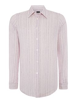 Slim Drawn Stripe Shirt