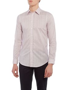 PS By Paul Smith Slim Drawn Stripe Shirt