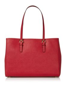 Jetset travel red tote bag