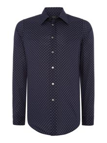 PS By Paul Smith Slim Geo Shirt
