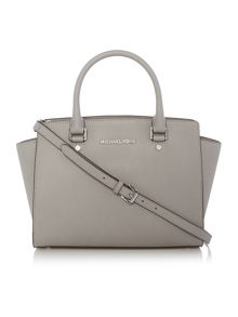 Michael Kors Selma grey tote bag