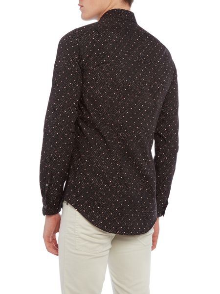 PS By Paul Smith Slim Contrast Print Shirt
