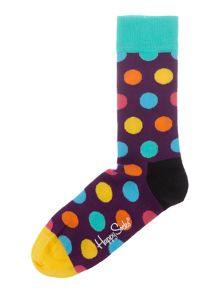 Happy Socks Multi Spot Sock