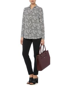 Animal printed jersey shirt