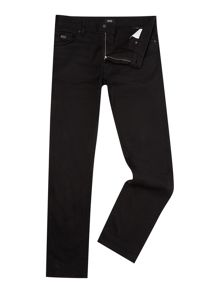 Hugo Boss Maine black regular fit jean