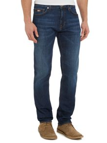 Hugo Boss Maine dark vintage regular fit jean