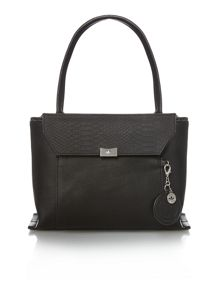 Nica Cayleigh black medium shoulder tote bag