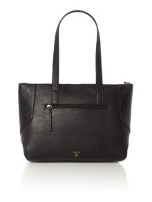 Nica Charlotte black medium shoulder tote bag