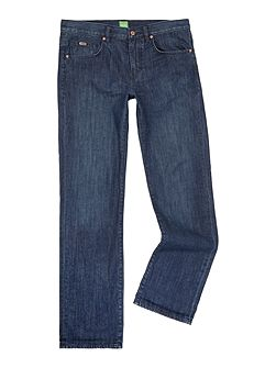 Kansas regular fit light wash jean