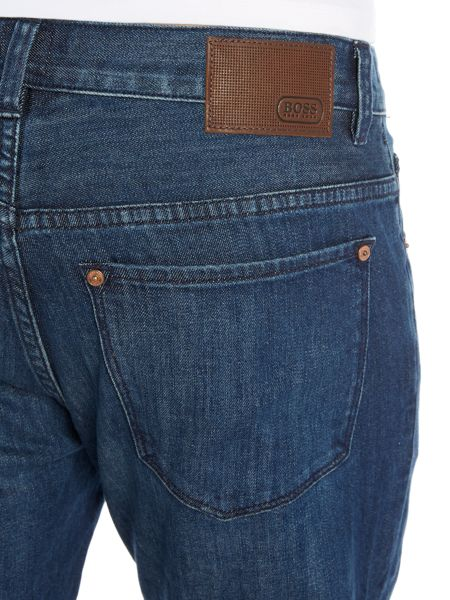 Hugo Boss Kansas regular fit light wash jean