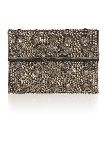 Label Lab Beaded clutch handbag