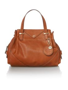 Ava tan medium tote bag