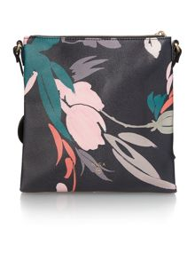 Nica Isabella multi coloured medium cross body bag