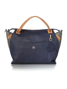 Nica Emma navy medium cross body tote bag