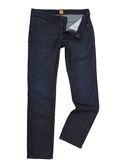 Orange 63 dark blue slim fit jean