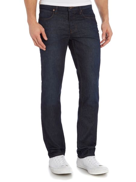 Hugo Boss Orange 63 dark blue slim fit jean