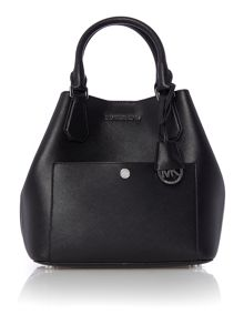 Michael Kors Greenwich black bucket bag