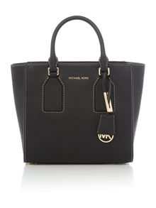 Michael Kors Selby black satchel
