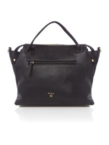 Nica Emma black medium cross body tote bag