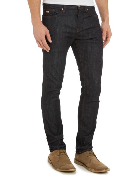 Hugo Boss Delaware rinse slim fit jean
