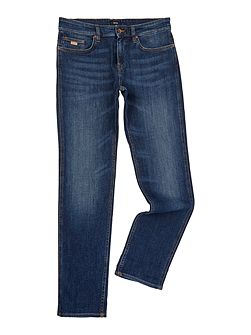 Delaware mid wash slim fit jean